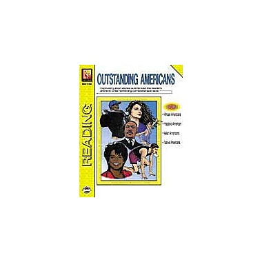 Remedia Publications Outstanding Americans Reading & Writing Workbook, Grade 4 - Grade 9 [eBook]