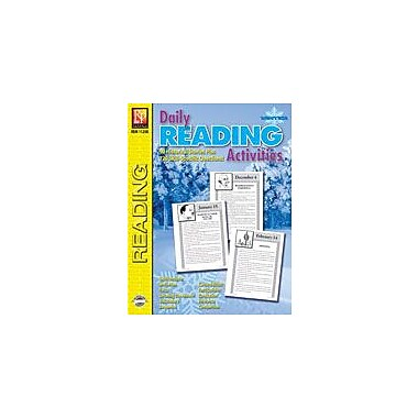 Remedia Publications Daily Reading Activities: Winter Reading & Writing Workbook, Grade 3 - Grade 4 [eBook]