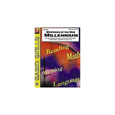 Remedia Publications Mysteries of the New Millennium Reading & Writing Workbook, Grade 4 - Grade 12 [eBook]