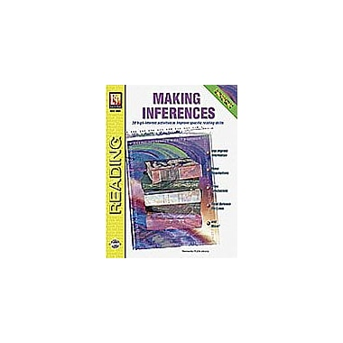 Remedia Publications Making Inferences Reading & Writing Workbook, Grade 4 - Grade 8 [eBook]