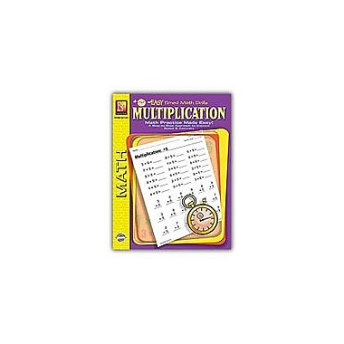 Remedia Publications Easy Timed Math Drills: Multiplication Math Workbook, Grade 1 - Grade 3 [eBook]