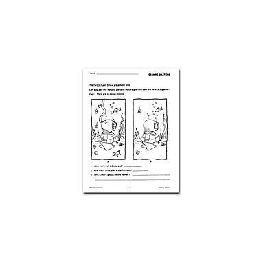 Remedia Publications Drawing Solutions: Unit 1 Problem Solving Workbook, Grade 3 - Grade 6 [eBook]
