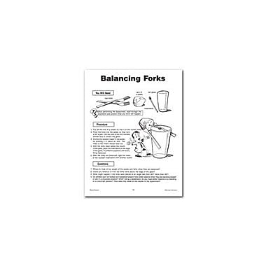 Remedia Publications Physical Science Experiments: Balancing Forks Science Workbook, Grade 4 - Grade 8 [eBook]