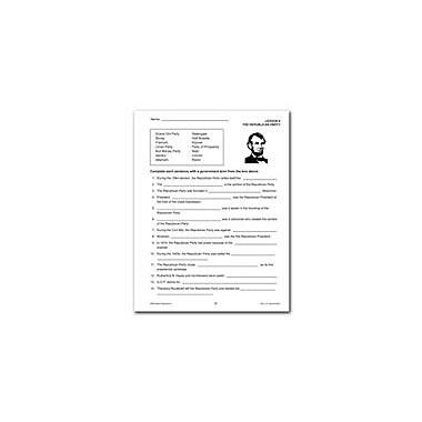 Remedia Publications The Republican and Democratic Parties Social Studies Workbook, Grade 6 - Grade 12 [eBook]