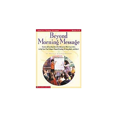 Scholastic Beyond Morning Message Math Workbook, Kindergarten - Grade 2 [eBook]