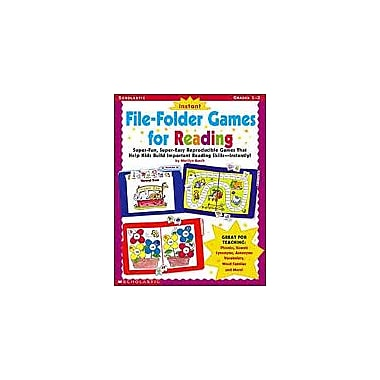 Scholastic Instant File-Folder Games for Reading Grammar Workbook, Grade 1 - Grade 3 [eBook]