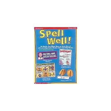 Scholastic Spell Well Language Arts Workbook, Grade 4 - Grade 8 [Enhanced eBook]