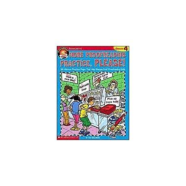 Scholastic Funnybone Books: More Proofreading Practice, Please Grammar Workbook, Grade 4 [Enhanced eBook]