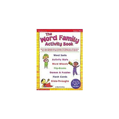 Scholastic The Word Family Activity Book Language Arts Workbook, Kindergarten - Grade 2 [Enhanced eBook]