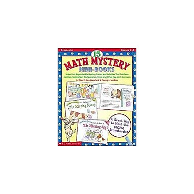 Scholastic 15 Math Mystery Mini-Books Math Workbook, Grade 2 - Grade 4 [Enhanced eBook]