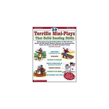 Scholastic 20 Terrific Mini-Plays That Build Reading Skills History Workbook, Grade 2 - Grade 4 [Enhanced eBook]