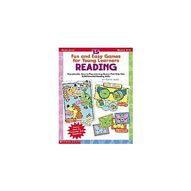 Scholastic 15 Fun and Easy Games for Young Learners: Reading Puzzles Workbook, Kindergarten - Grade 2 [Enhanced eBook]