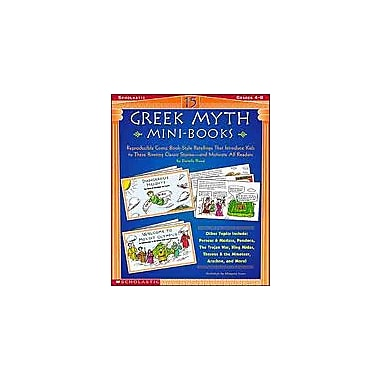 Scholastic 15 Greek Myth Mini-Books History Workbook, Grade 4 - Grade 8 [Enhanced eBook]