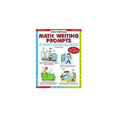 Scholastic Marvelous Math Writing Prompts Problem Solving Workbook, Grade 2 - Grade 4 [Enhanced eBook]