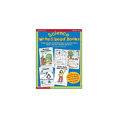 Scholastic Science Write & Read Books Science Workbook, Kindergarten - Grade 2 [Enhanced eBook]