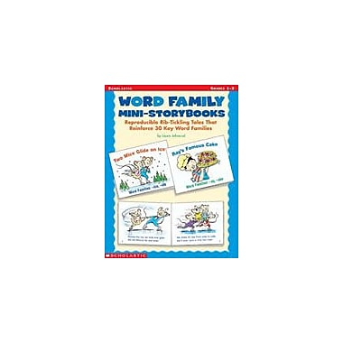 Scholastic Word Family Mini-Storybooks Language Arts Workbook, Grade 1 - Grade 3 [Enhanced eBook]
