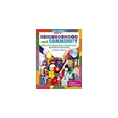 Scholastic Early Themes: Neighborhood and Community Math Workbook, Kindergarten - Grade 1 [eBook]