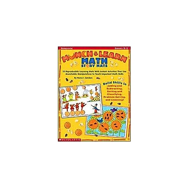 Scholastic Munch & Learn Math Story Mats Math Workbook, Kindergarten - Grade 2 [eBook]