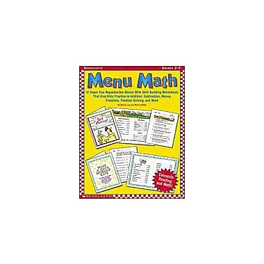 Scholastic Menu Math Math Workbook, Grade 2 - Grade 3 [Enhanced eBook]
