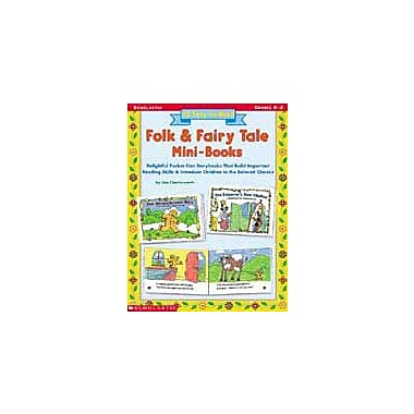 Scholastic 15 Easy-To-Read Folk & Fairy Tale Mini-Books Language Arts Workbook, Kindergarten - Grade 2 [Enhanced eBook]