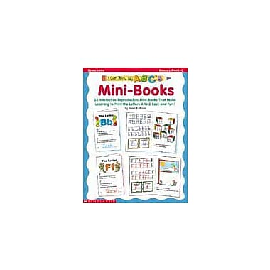 Scholastic I Can Write My ABC's! Mini-Books Language Arts Workbook, Preschool - Grade 1 [Enhanced eBook]
