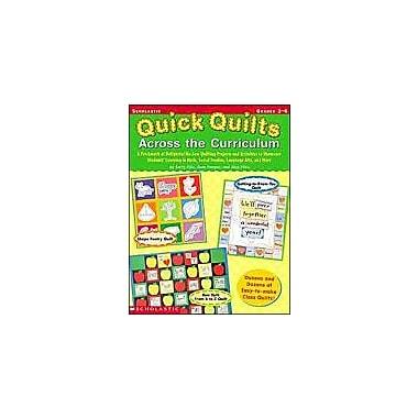 Scholastic Quick Quilts Across the Curriculum Art & Music Workbook, Grade 3 - Grade 6 [Enhanced eBook]