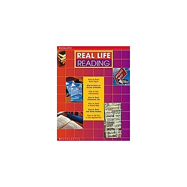 Scholastic Real-Life Reading Workbook Reading & Writing Workbook, Grade 7 - Grade 12 [eBook]
