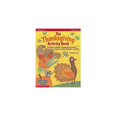 Scholastic The Thanksgiving Activity Book Social Studies Workbook, Kindergarten - Grade 2 [Enhanced eBook]