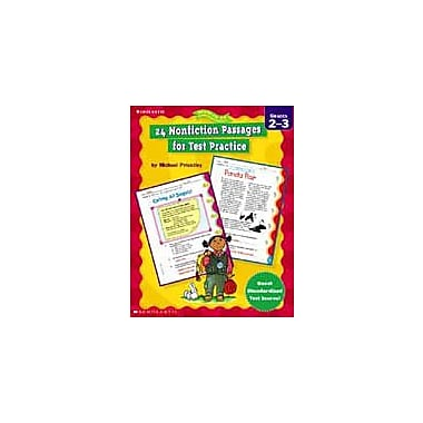 Scholastic 24 Nonfiction Passages for Test Practice Language Arts Workbook, Grade 2 - Grade 3 [eBook]