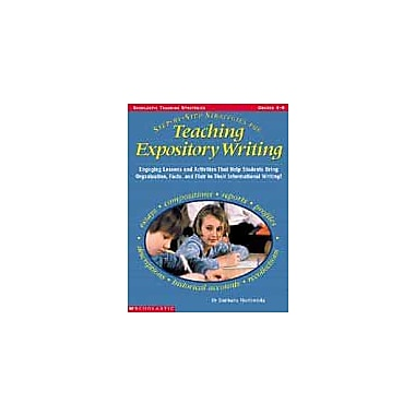 Scholastic Step-By-Step Strategies for Teaching Expository Writing Grammar Workbook, Grade 4 - Grade 8 [eBook]