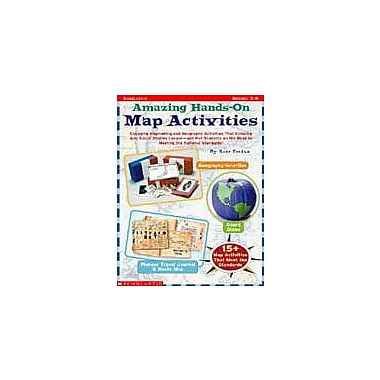 Scholastic Amazing Hands-On Map Activities Art & Music Workbook, Grade 3 - Grade 6 [eBook]