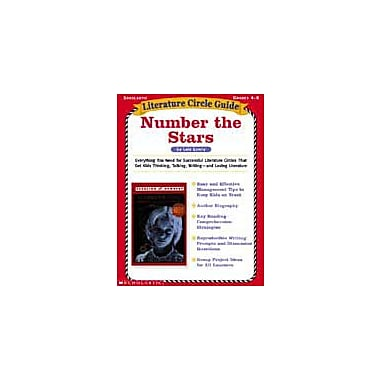 Scholastic Literature Circle Guides: Number the Stars Language Arts Workbook, Grade 4 - Grade 8 [Enhanced eBook]