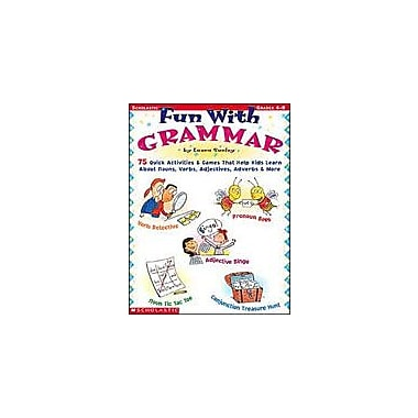 Scholastic Fun With Grammar Language Arts Workbook, Grade 4 - Grade 8 [Enhanced eBook]