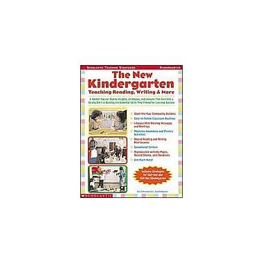 Scholastic The New Kindergarten: Teaching Reading, Writing & More Math Workbook, Kindergarten [Enhanced eBook]