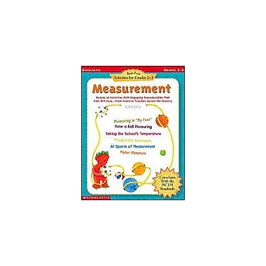 Scholastic Best-Ever Activities for Grades 2-3: Measurement Math Workbook, Grade 2 - Grade 3 [Enhanced eBook]