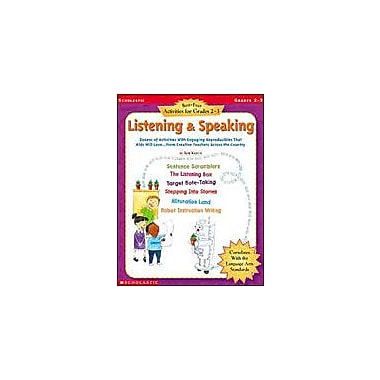 Scholastic Best-Ever Activities for Grades 2-3: Listening and Speaking, Grade 2 - Grade 3 [Enhanced eBook]