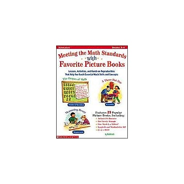 Scholastic Meeting the Math Standards With Favorite Picture Books Math Workbook, Grade 2 - Grade 4 [eBook]