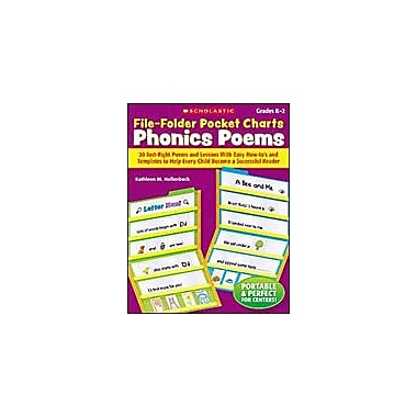 Scholastic File-Folder Pocket Charts: Phonics Poems Reading & Writing Workbook, Kindergarten - Grade 2 [Enhanced eBook]