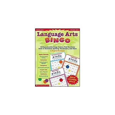 Scholastic Language Arts Bingo Reading & Writing Workbook, Grade 3 - Grade 5 [eBook]