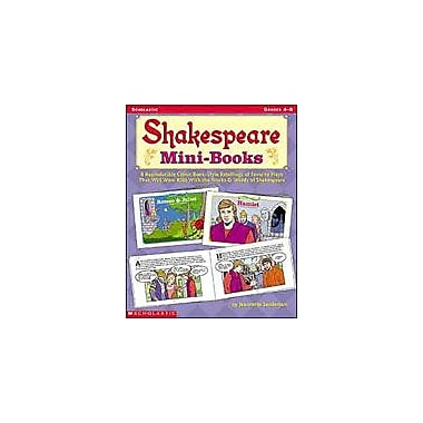 Scholastic Shakespeare Mini-Books Language Arts Workbook, Grade 4 - Grade 8 [Enhanced eBook]