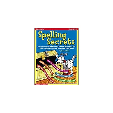 Scholastic Spelling Secrets Language Arts Workbook, Grade 2 - Grade 4 [eBook]