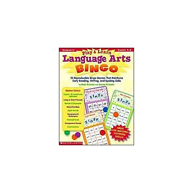 Scholastic Play & Learn Language Arts Bingo Puzzles Workbook, Kindergarten - Grade 2 [eBook]
