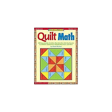 Scholastic Quilt Math: Grades 1-3 Math Workbook, Grade 1 - Grade 3 [Enhanced eBook]