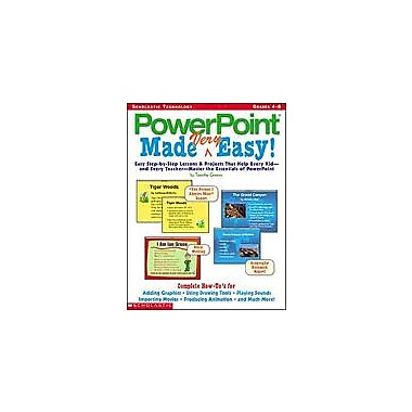 Scholastic Powerpoint Made Very Easy Language Arts Workbook, Grade 4 - Grade 8 [Enhanced eBook]