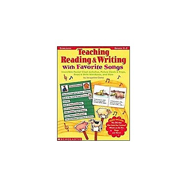Scholastic Teaching Reading and Writing With Favorite Songs Reading & Writing Workbook, Kindergarten - Grade 2 [Enhanced eBook]