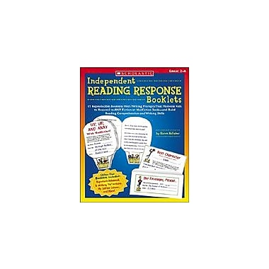 Scholastic Independent Reading Response Booklets Language Arts Workbook, Grade 2 - Grade 4 [Enhanced eBook]