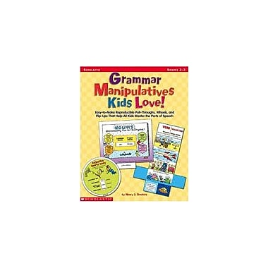 Scholastic Grammar Manipulatives Kids Love Language Arts Workbook, Grade 2 - Grade 3 [eBook]