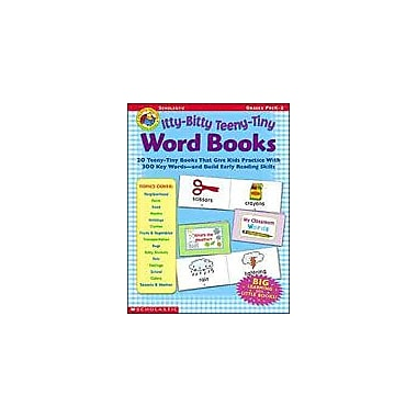 Scholastic Itty-Bitty Teeny-Tiny Word Books Grammar Workbook, Preschool - Grade 2 [Enhanced eBook]