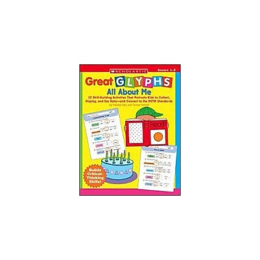 Scholastic Great Glyphs: All About Me Math Workbook, Grade 1 - Grade 3 [eBook]