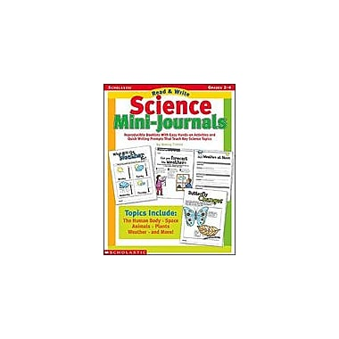 Scholastic Read and Write Science Mini-Journals Science Workbook, Grade 2 - Grade 4 [eBook]